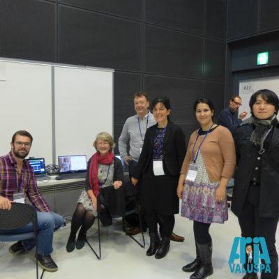 The Aria-Valuspa team at the 18th ICMI, Tokyo.