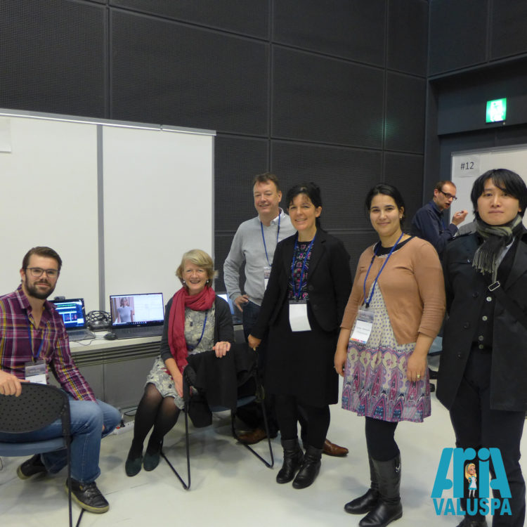 The Aria-Valuspa team at the 18th ICMI, Tokyo.